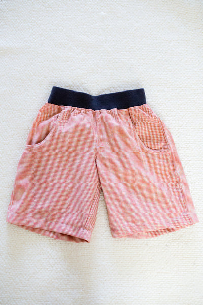 "Boys' ""Fox and the Houndstooth"" Shorts set"