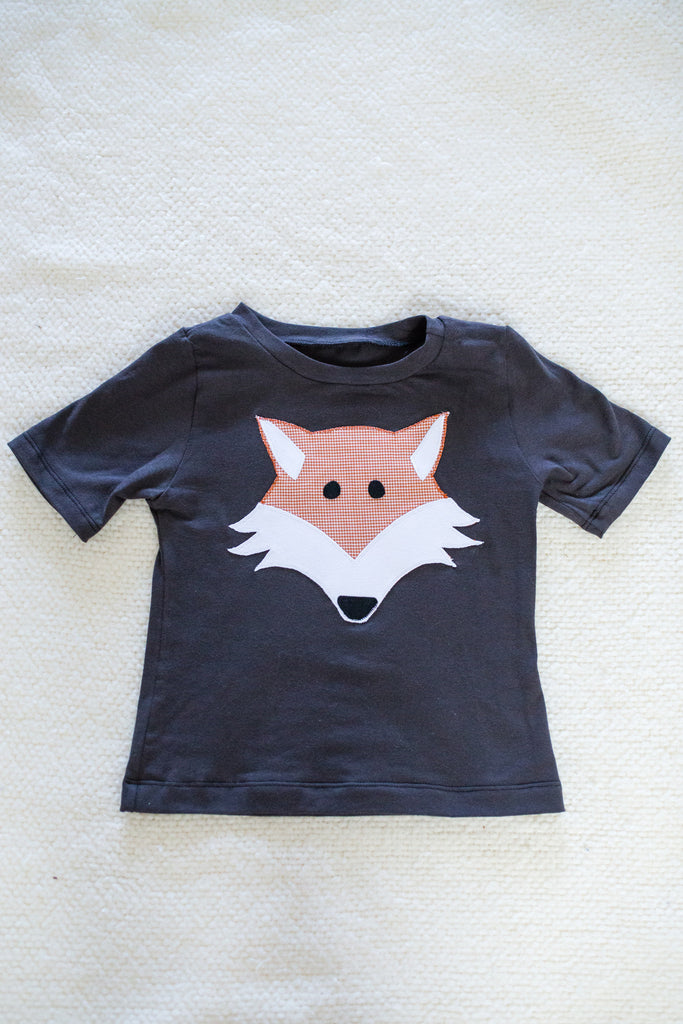 """Fox and the Houndstooth"" Tee only"