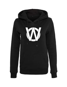 Ladies Outside World Logo Hoodie