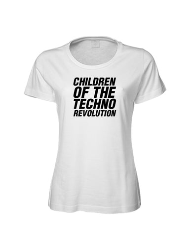 Ladies Children Of The Techo Revolution Shirt