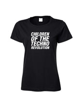 Laden Sie das Bild in den Galerie-Viewer, Ladies Children Of The Techo Revolution Shirt
