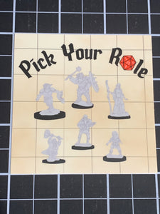 Pick Your Role Sticker