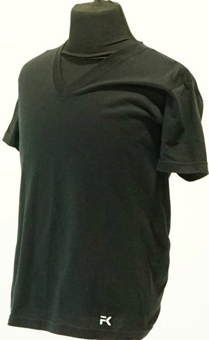 FK Designer V-neck (Black)