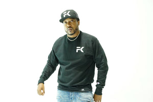 FK X Champion Sweater (Black)