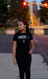 Keke models off the O.G. Finesse Queen T