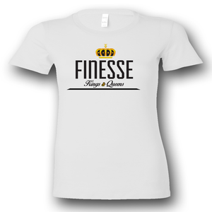 O.G. Finesse Queens T-Shirt 2015 Vintage (Blanco)