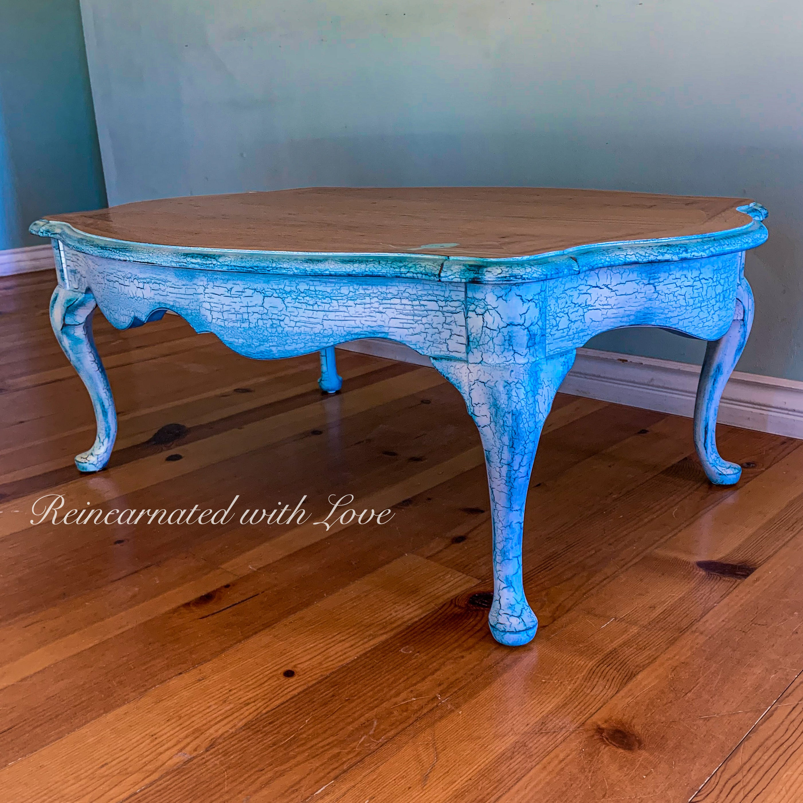French Country Coffee Table Boho Furniture Reincarnated With Love Reincarnated With Love