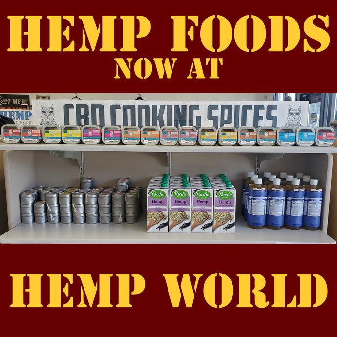 Hemp Milk and Hemp Soap at Hemp World
