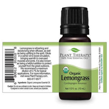 Load image into Gallery viewer, Lemongrass Organic Essential Oil