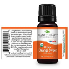 Load image into Gallery viewer, Orange Sweet Organic Essential Oil