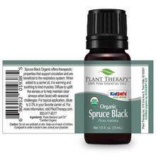 Load image into Gallery viewer, Spruce Black Organic Essential Oil
