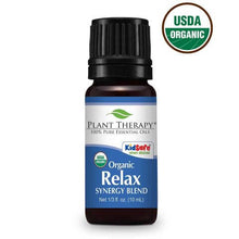 Load image into Gallery viewer, Relax Organic Synergy Essential Oil