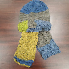 Load image into Gallery viewer, Chrysalis Crochet Hat/Scarf Set