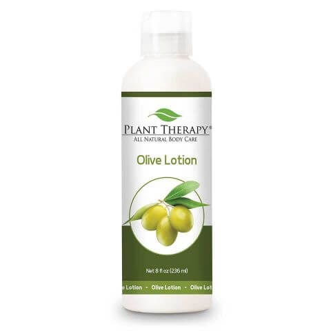 Olive Lotion - Unscented Base 8 oz