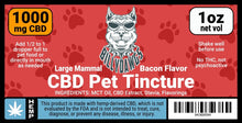 Load image into Gallery viewer, Billy Dawgs CBD Pet Tincture Large