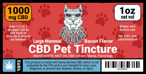 Billy Dawgs CBD Pet Tincture Large