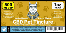 Load image into Gallery viewer, Billy Dawgs CBD Pet Tincture Medium
