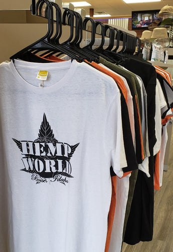 Boise Hemp World Men's Hemp T-Shirt