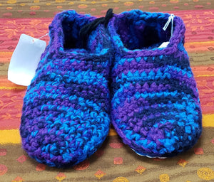 Chrysalis Crochet Cotton Low-Top Bag Slippers