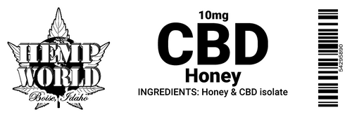 Hemp World CBD Honey Stick