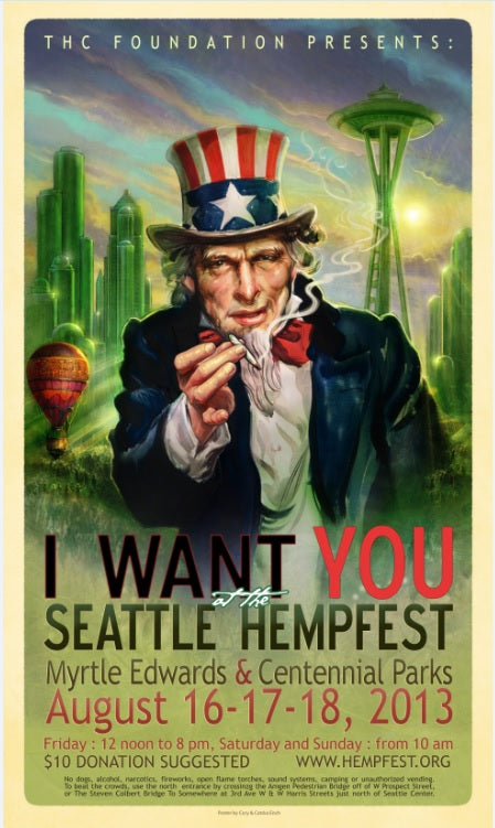 Hempfest® 2013 (Uncle Sam)