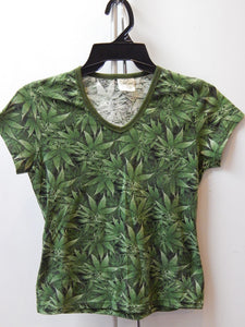 Reefer Camo Women's V-Shirt
