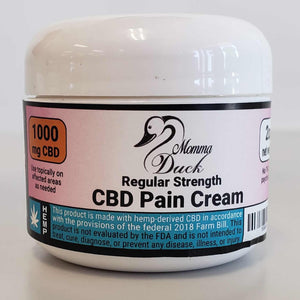 Momma Duck CBD Pain Cream 2oz 1000 Jar