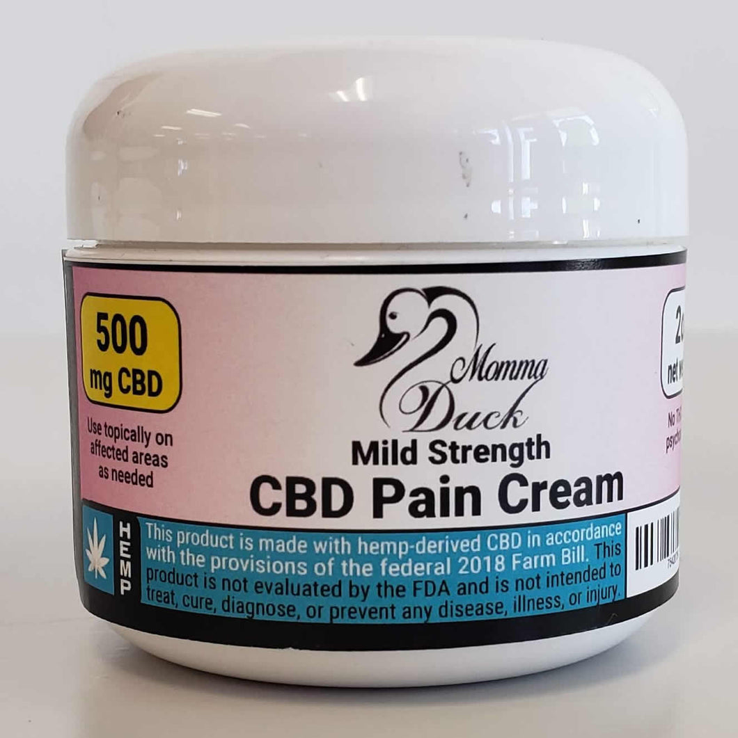 Momma Duck CBD Pain Cream 2oz 500 Jar