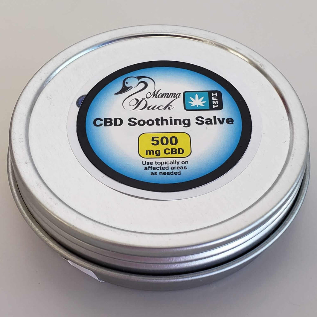 Momma Duck CBD Body Balm Soothing Salve