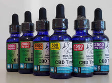 Load image into Gallery viewer, Momma Duck CBD Oil Tinctures Mint Collection