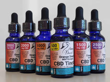 Load image into Gallery viewer, Momma Duck CBD Oil Tinctures Orange Collection