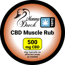 Load image into Gallery viewer, Momma Duck CBD Body Balm Muscle Rub