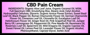 Momma Duck CBD Pain Cream Ingredients
