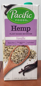 Pacific Foods Hemp Milk