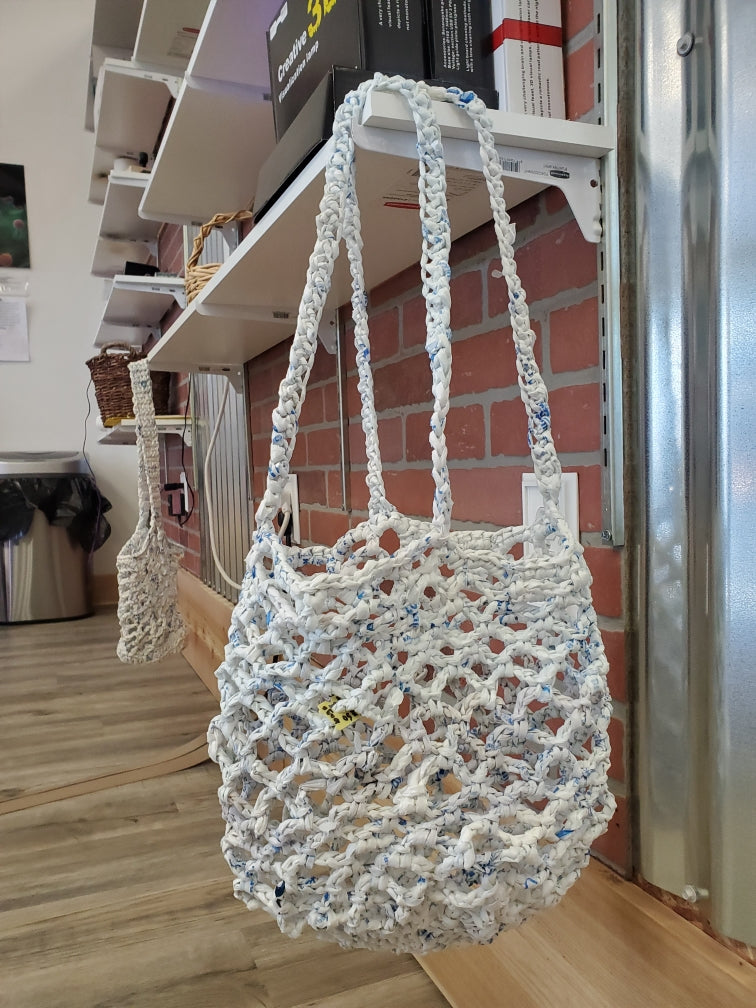 Chrysalis Crochet Recycled Shopping Bag Shopping Bag