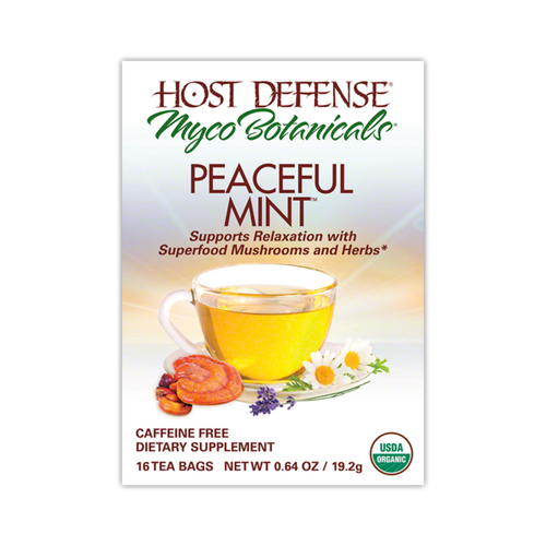MycoBotanicals® Tea - Peaceful Mint™