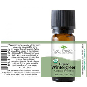 Wintergreen Organic Essential Oil