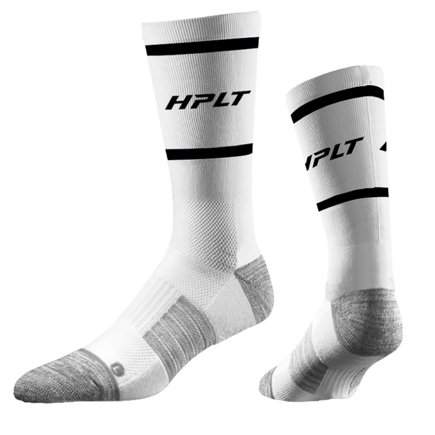 HPLT Sport Socks - White/Black