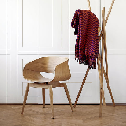 Silla Madera 4th Armchair Natural Almost