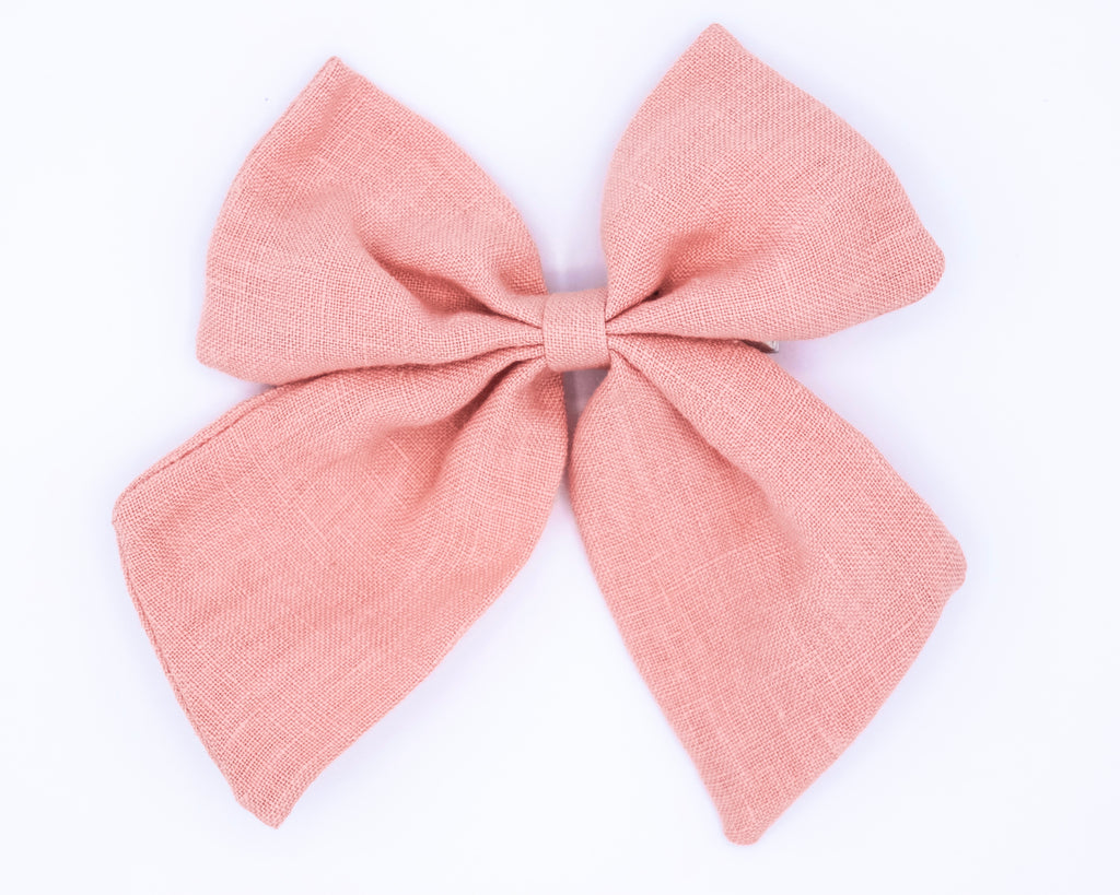 Linen Sailor Bows
