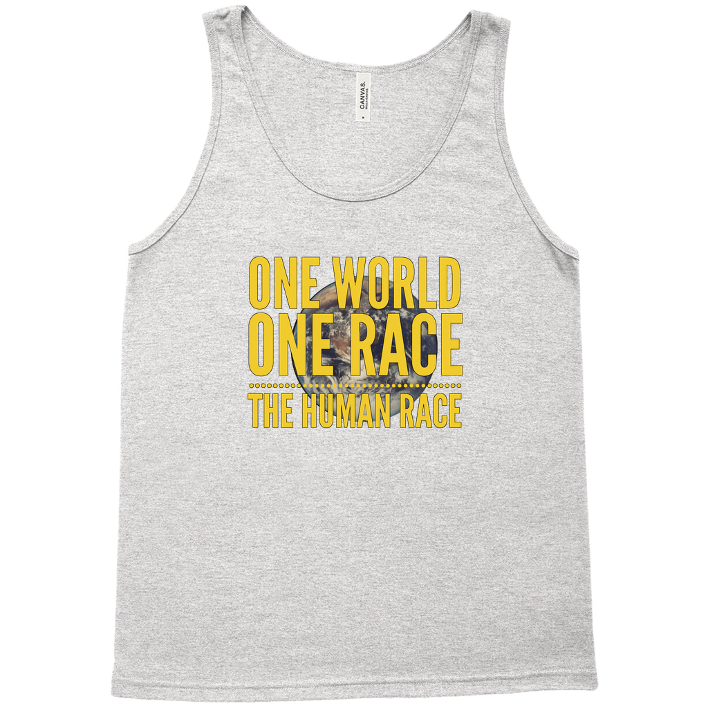 One World, One Race...The Human Race - Unisex Tank - GN