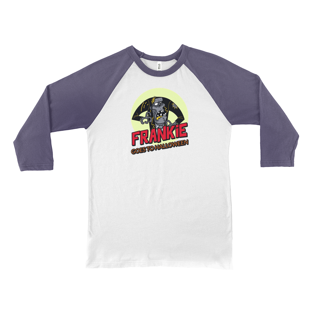Frankie goes to Halloween - Long Sleeve Shirts - GN - funny t-shirt, Halloween
