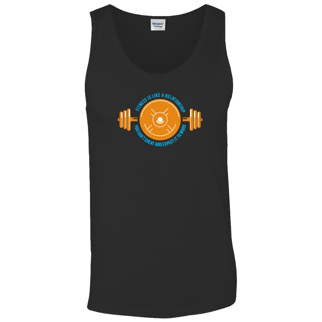 Fitness is like a relationship, you can't cheat and expect it to work - Tank Tops - GN -