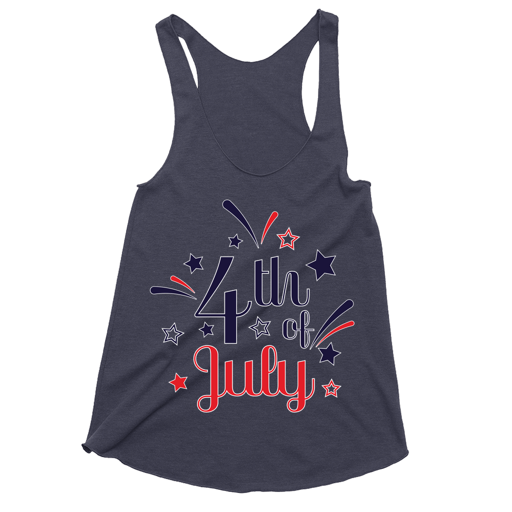 4th of July - Racerback Tank - GN