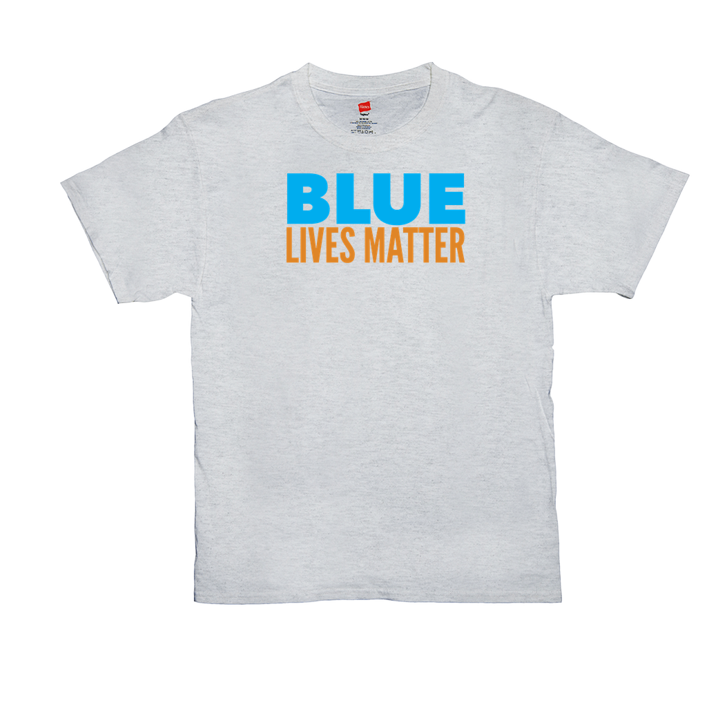 Blue Lives Matter - Unisex T-Shirts - GN - 06, blue lives matter, patriotic, inspirational, Police