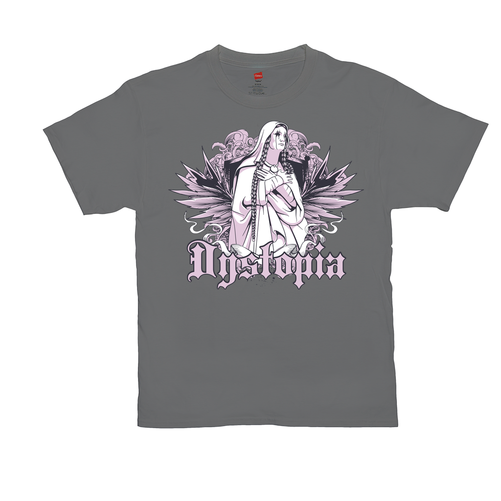 Dystopia - Unisex T-Shirts - GN - gothic, artisan, graphic