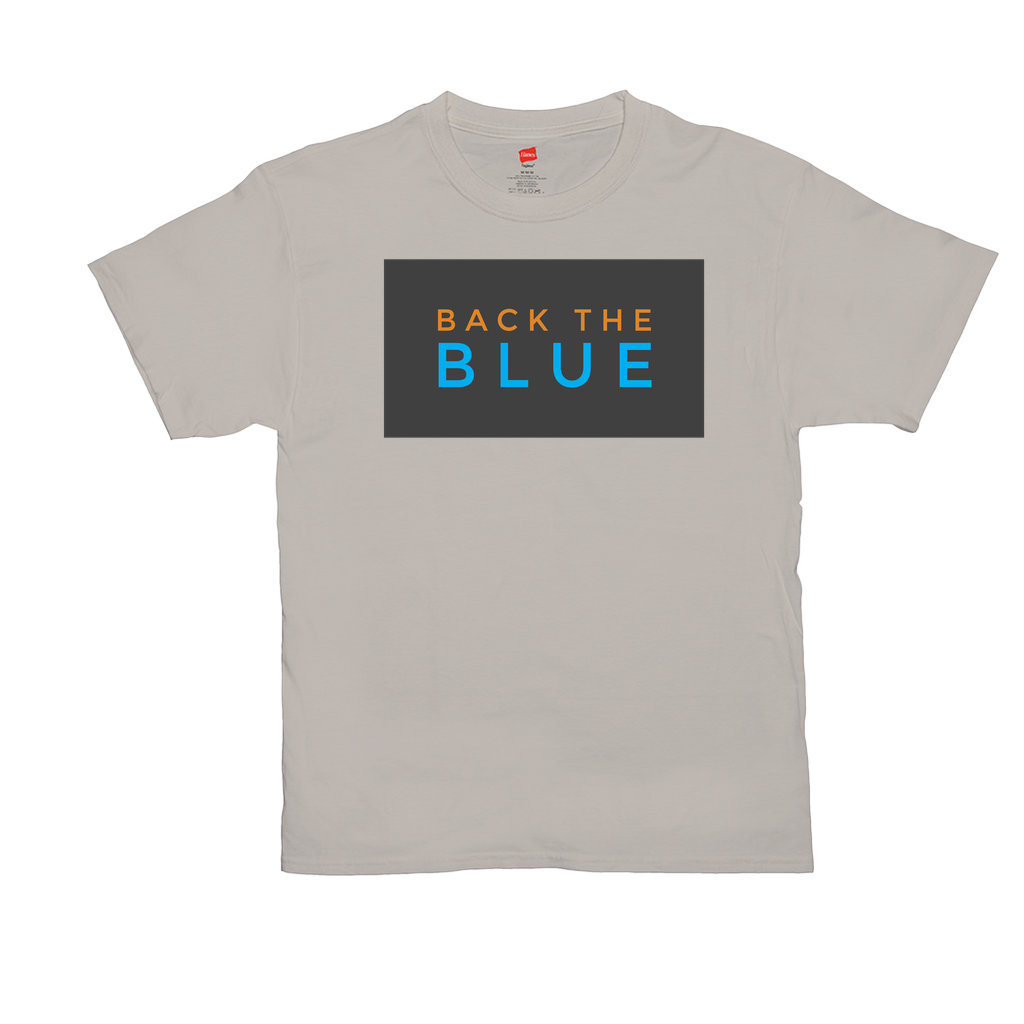 "Unisex T-Shirts - GN - ""Back the Blue"" - 11, blue lives matter, patriotic, inspirational, Police"