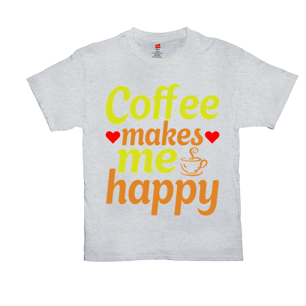 Coffee makes me happy - Unisex T-Shirts - GN
