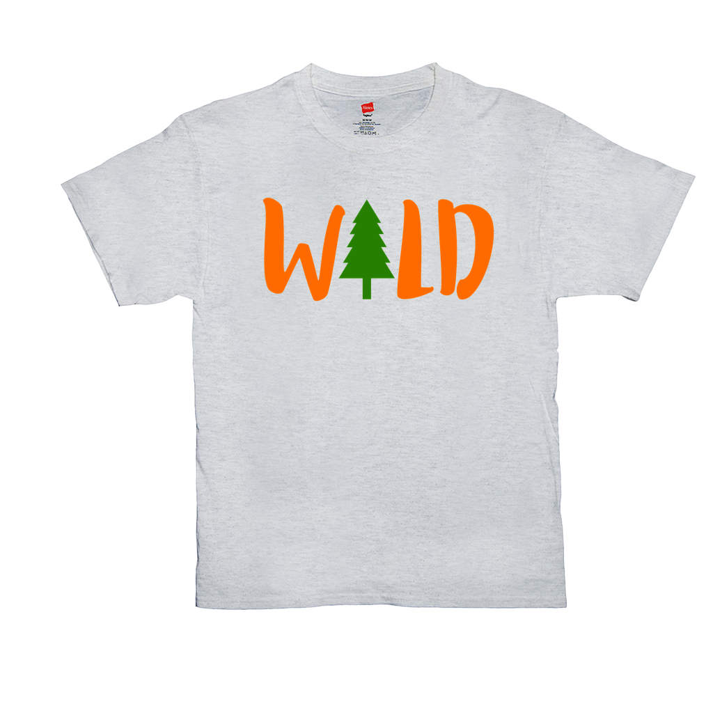 Wild -Unisex T-Shirts - GN -  camping, hiking, outdoors, nature