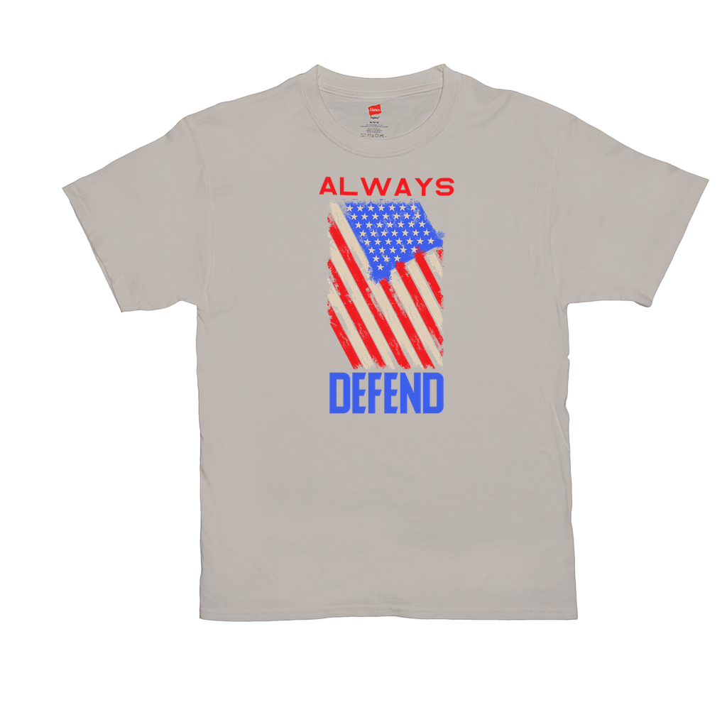 Always Defend - Unisex T-Shirts - GN - patriotic, inspirational
